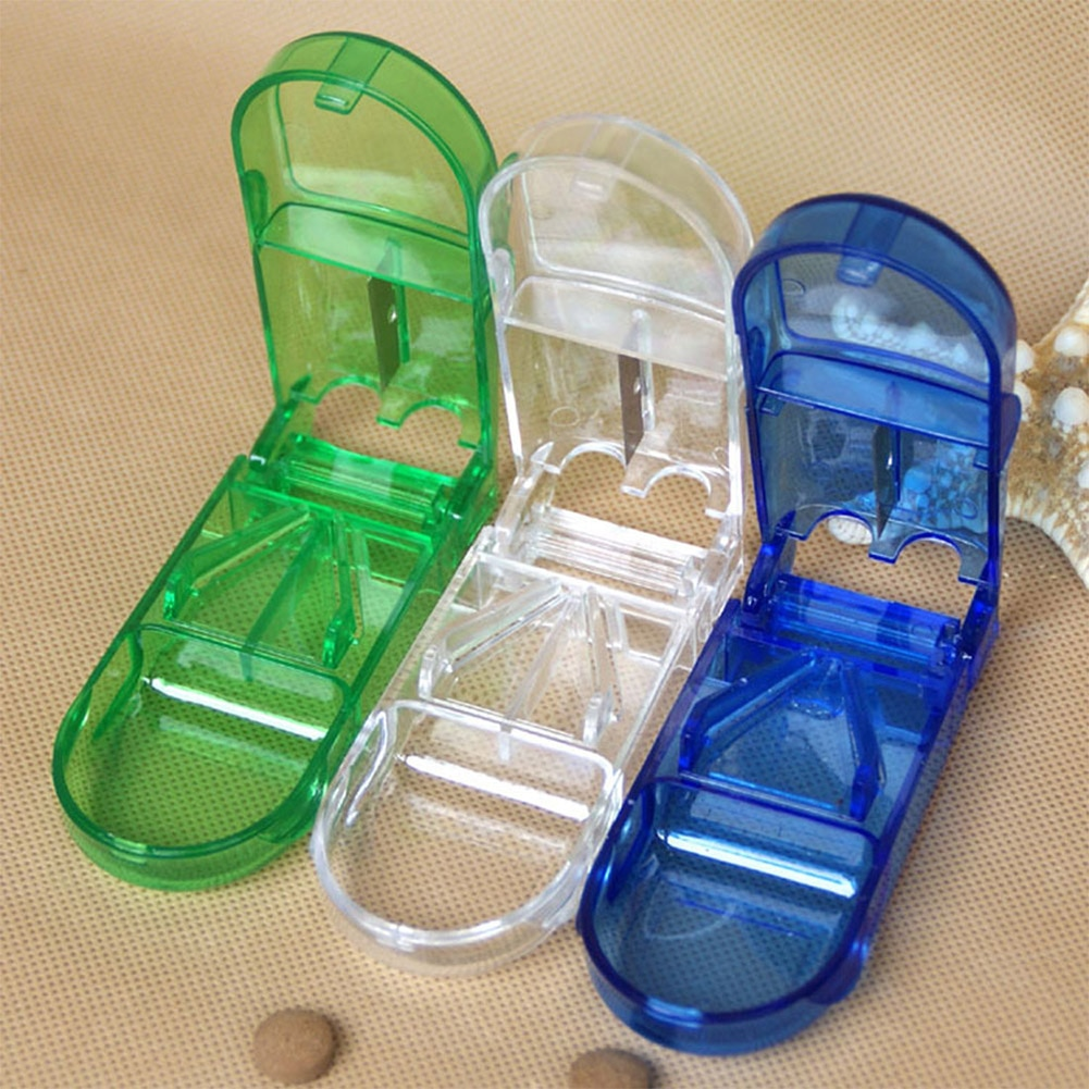 Оборудование для дизайна ногтей, контейнер для стразов, нож для разрезания таблеток, разветвитель, разделитель для хранения, дорожный футляр для таблеток, органайзер, медицинский ящик, хит продаж
