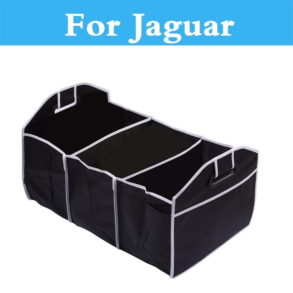 Contenedor de almacenamiento de organizador no tejido para coche, caja de almacenamiento para Jaguar f-pace tipo F s-tipo XE XF XFR XJ XJR XK XKR XType