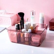 Caja de almacenamiento de cosméticos acrílicos caja de lápiz labial transparente caja de almacenamiento de escritorio de oficina caja de acabado wx10221418