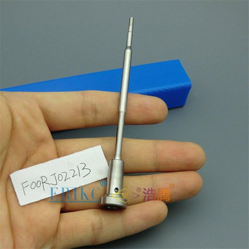 ERIKC F00RJ02213 válvula F 00R J02 213 inyector Válvula de control de boquilla common rail para inyector 0 445 120 040/65,10401-7001C