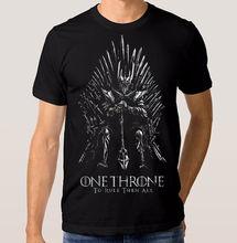 Sauron T-Shirt trône unique, seigneur des anneaux Game of Thrones Combo 2019 été mode à manches courtes marque hauts hommes col rond T-shirt