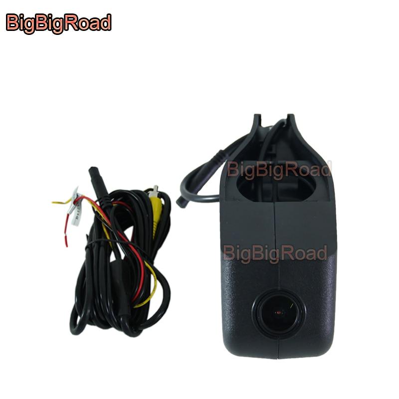 BigBigRoad Car wifi DVR Video Recorder dash cam Camera For Skoda Superb Rapid yeti fabia roomester without rain & light sensor