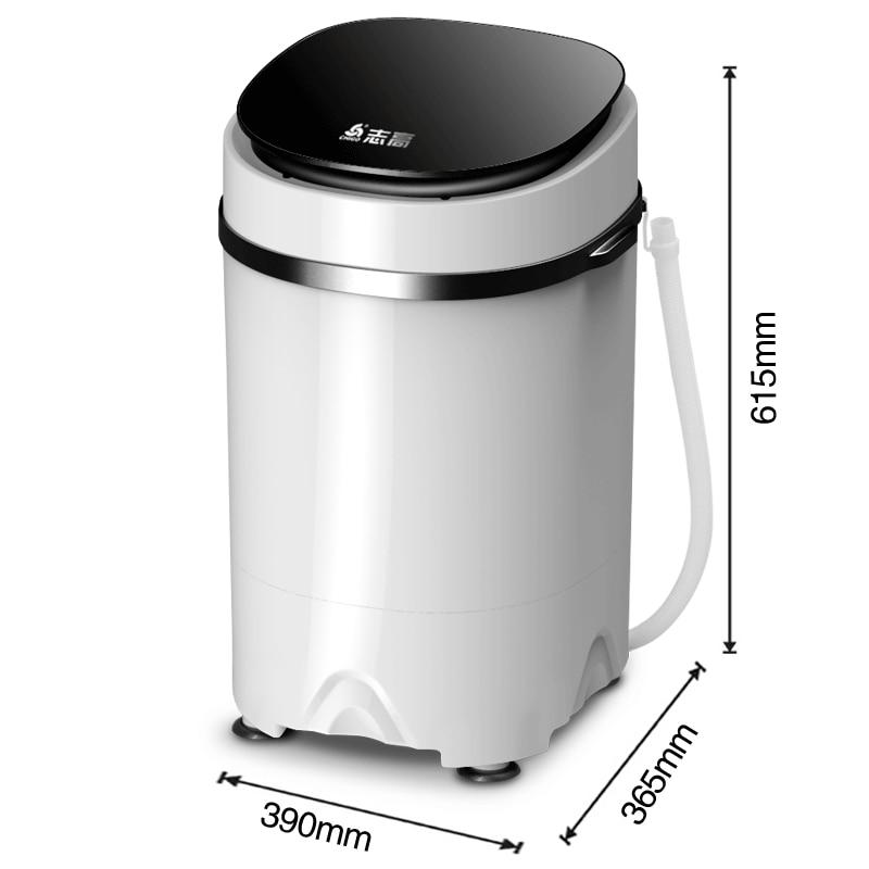 Lavadora Mini semiautomática portátil de 3,8 kg lavadora y secadora lavadora mini lavadora