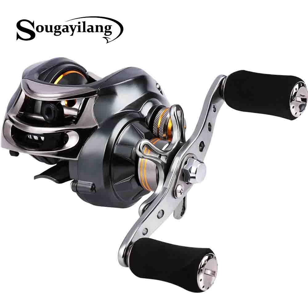 Sougayilang высокоскоростные Рыболовные катушки 11 + 1 Шариковые подшипники 7,0 1 Катушка с правой/левой рукой, катушка для ловли карпа