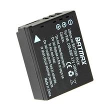 3.7 v 1300 mAh CGA-S007 CGA CGR S007E S007 S007A BCD10 Batterij voor Panasonic DMC TZ1 TZ2 TZ3 TZ4 TZ5 TZ50 TZ15 Batterijen bateria