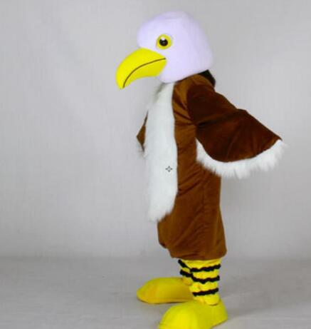 Disfraz de Mascota de águila, disfraz de dibujos animados, disfraz de Mascota de pájaro Águila, traje de Mascota, traje de adulto, vestido elegante para el festival, disfraz de Mascota
