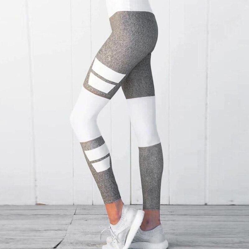 De cintura alta aptitud Leggings impreso Digital gótico Mujer Pantalones Jeggings rosa listo Slim entrenamiento Leggings
