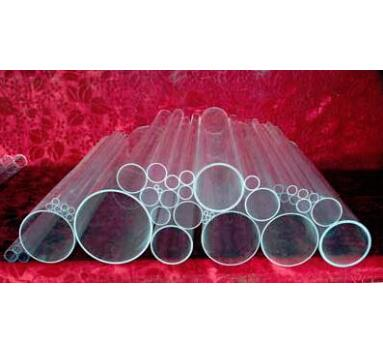 Tubo capilar de cuarzo OD95 * ID85 * L100mm/tubo capilar de vidrio de un solo orificio de sílice/vidrio de alta temperatura tubos