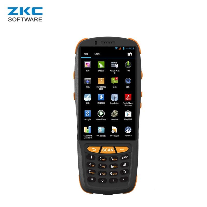 ZKC PDA3503S GPRS GSM 3G 4G Android robusto teléfono móvil portátil ordenador código de barras Qr código escáner NFC RFID lector de tarjeta inteligente
