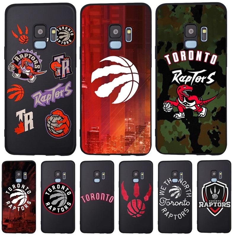 Toronto Raptors para Samsung Galaxy S6 S7 borde S8 S9 S10 S10e Plus Lite Nota 8 9 10 A30 A40 A50 A60 A70 M10 M20 cubierta de la caja del teléfono