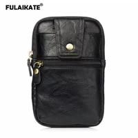 fulaikate 6 5 retro striae universal waist bag for xiaomi mi max2 card pocket business pouch for redmi note 5 pro phone case