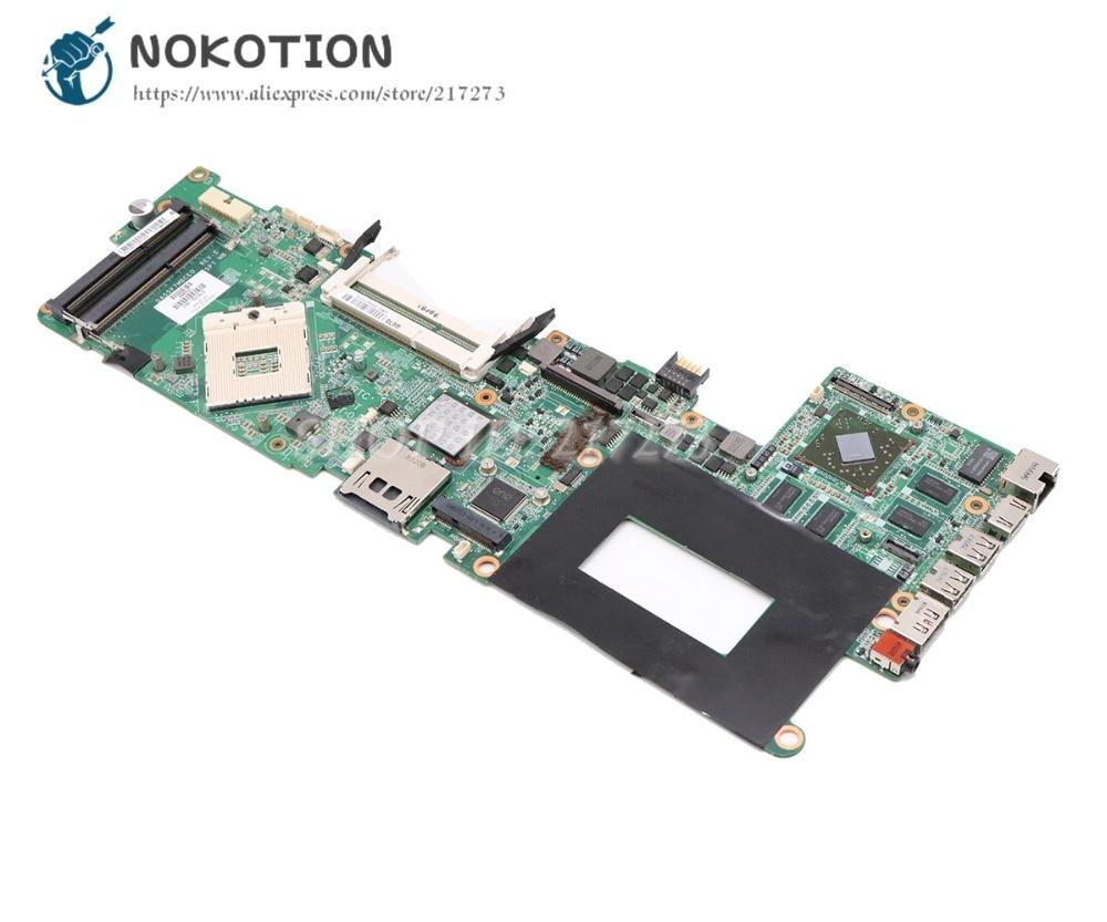 NOKOTION Para HP ENVY 15 Laptop Motherboard Placa Principal 1 PM55 DDR3 576772-001 DA0SP7MBCE0 gb GPU
