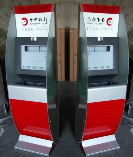 Tela de toque do Quiosque de Auto-atendimento do Terminal/Bilhete Quiosque De Venda Automática/máquina de quiosque de pagamento de contas