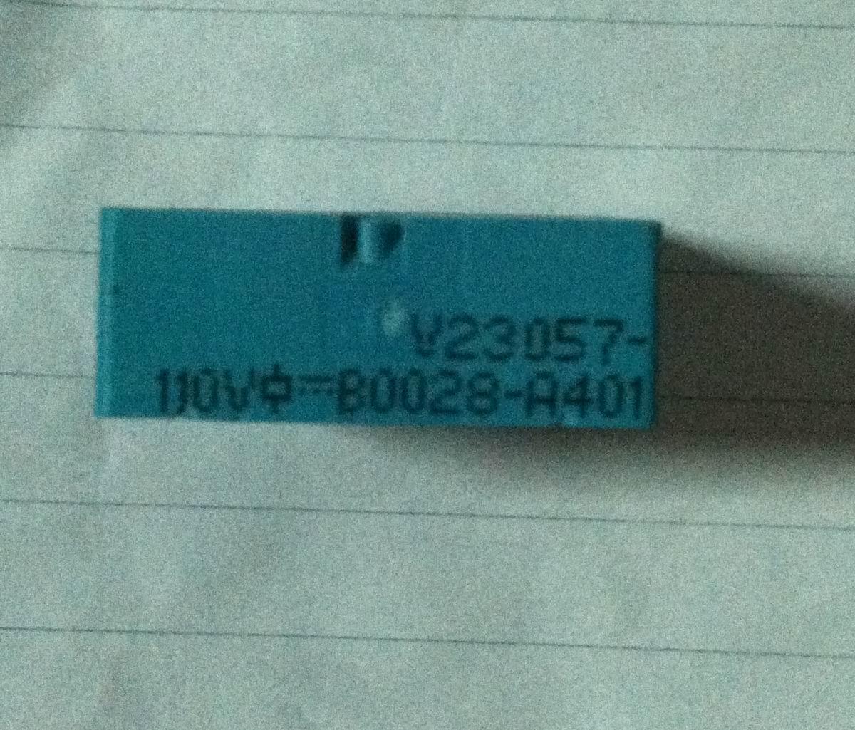 Relé de V23057-B0028-A401 110 V 5 pies