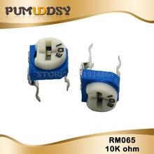 20 шт. RM065 RM-065 10K ohm 103 RM065-103 Триммер Потенциометр переменный резистор