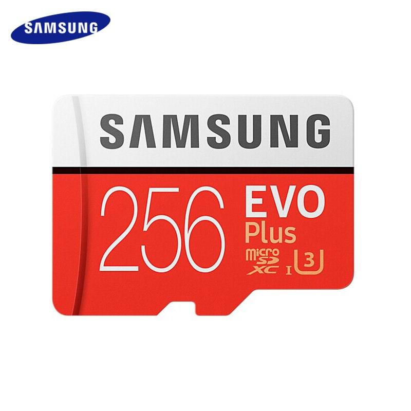 Карта памяти SAMSUNG класса EVO Plus Micro SD карта 256 ГБ 32 ГБ 64 Гб 128 ГБ SDHC SDXC класс 10 C10 UHS TF карта транс флэш-памяти Microsd