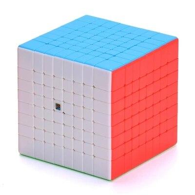 Moyu mf8 8x8x8 cubo migic stickerless 8x8 velocidade cubo