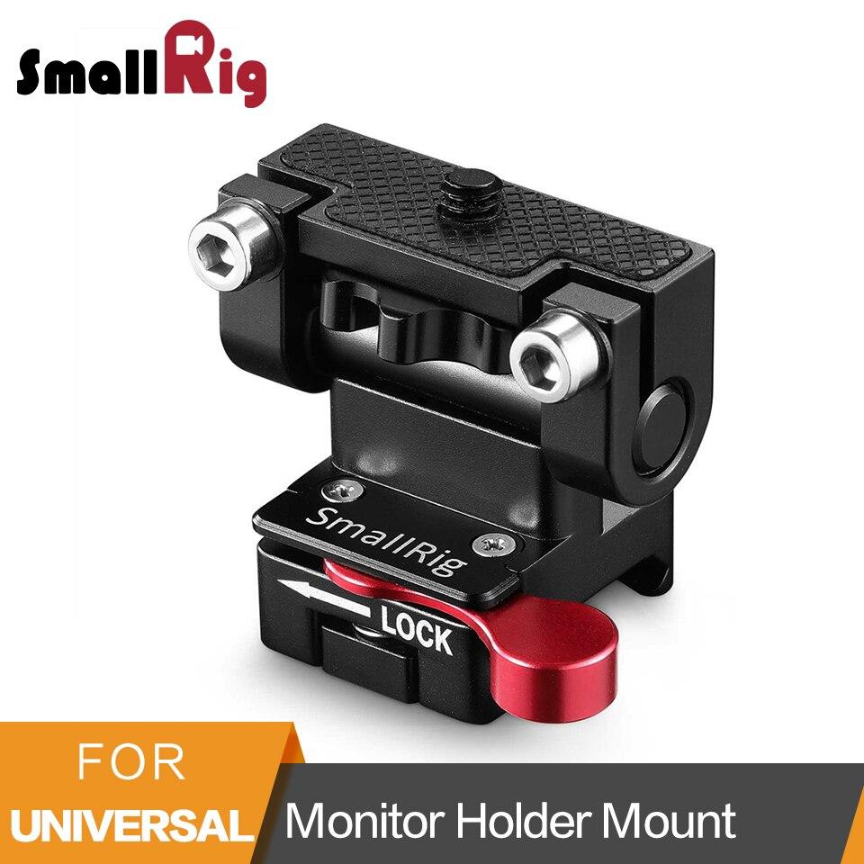 SmallRig DSLR камера Quick Release EVF крепление 5 дюймов/7 дюймов держатель монитора Монтажная пластина с зажимом NATO-2100