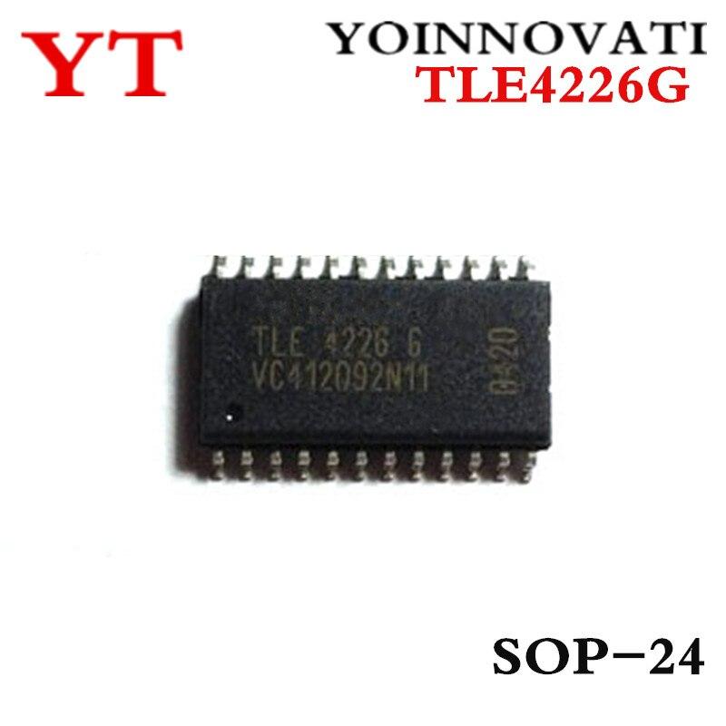 Livraison gratuite 5 pcs/LOT TLE4226G TLE4226 4226 SOP24 IC meilleure qualité