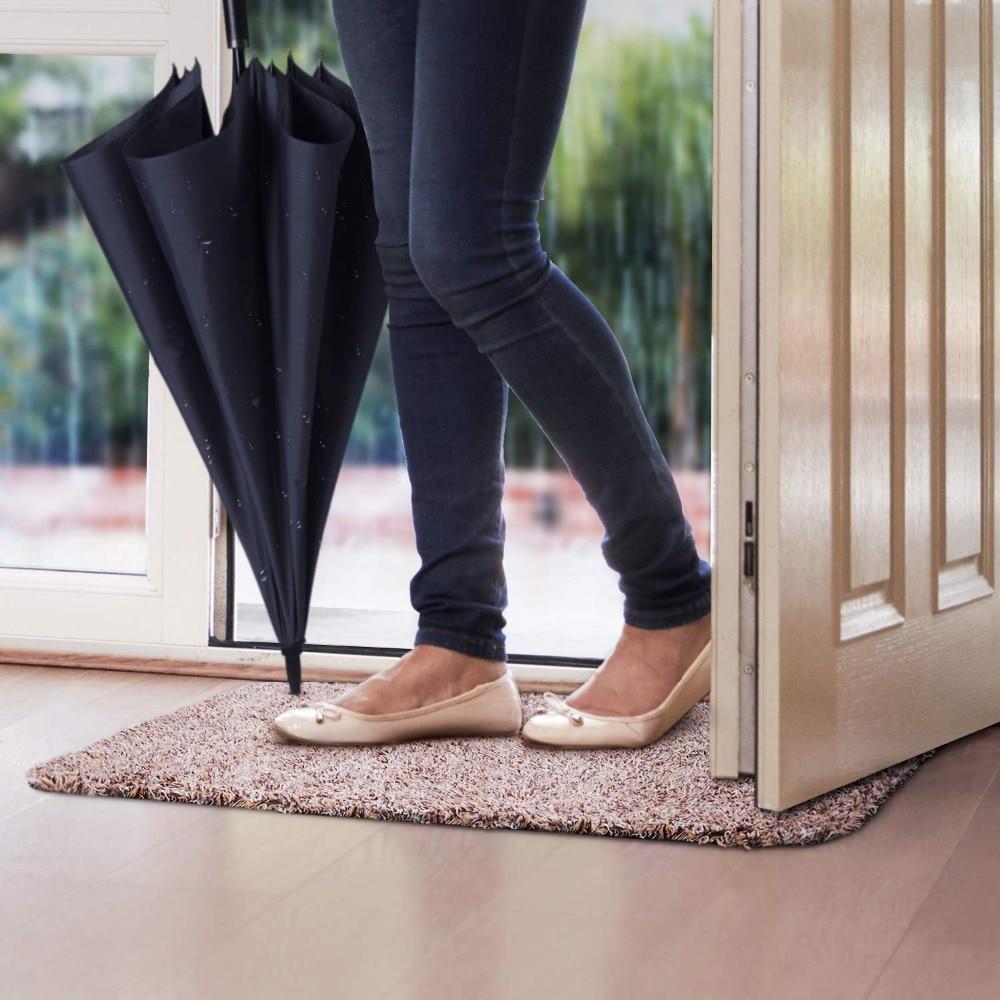 屋内玄関スーパー泥を吸収マットラテックスバッキングノンスリップドアマットフロントドア内部床ダートトラッパーマット綿カーペット