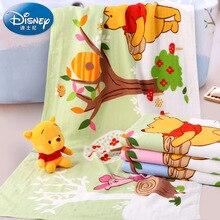 Disney Winnie the Pooh cotton gauze large bath towel Baby comfort 70*140cm bath towel