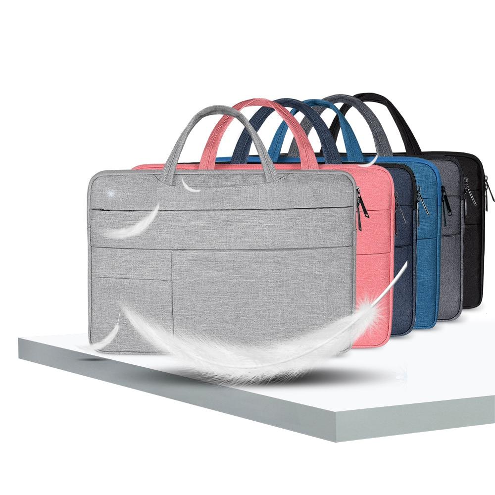 13.3 14 14.1 15 15.4 15.6 polegada luva do portátil saco para macbook ar pro 13 15 xiaomi notebook pro dell hp acer portátil saco casos