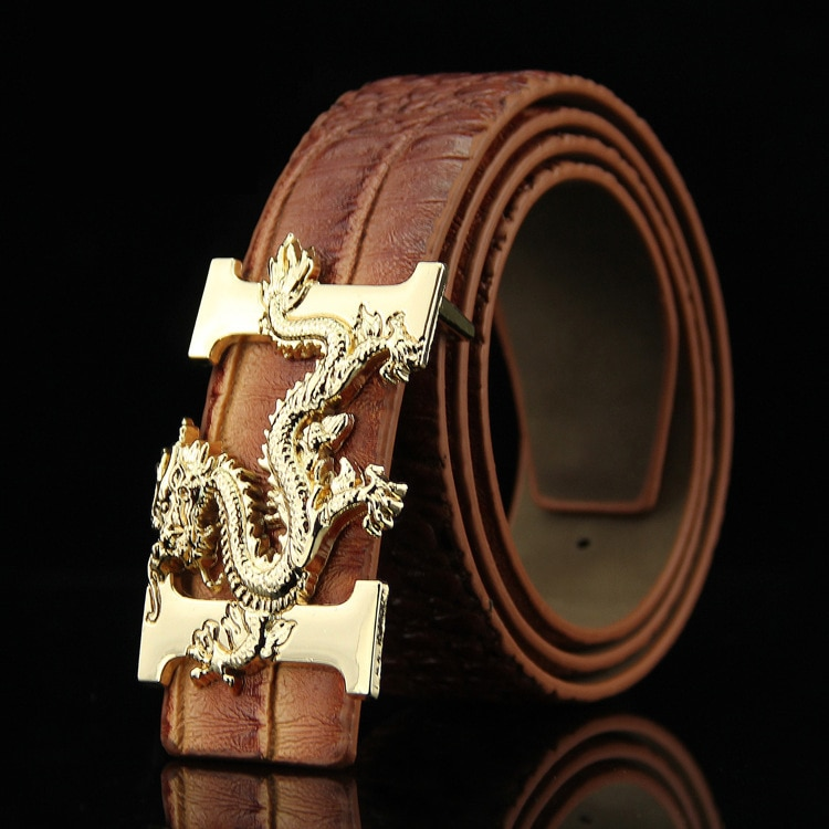 Новинка 2019, роскошный модный китайский кран с крокодиловым узором, мужской ремень, голографический мужской пояс, подарки для мужчин, роскош...