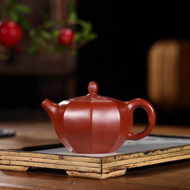 الجرار ييشينغ أوصى خام خام dahongpao وانغ بينغ دليل محض الشهيرة الجملة السفر طقم شاي إبريق الشاي