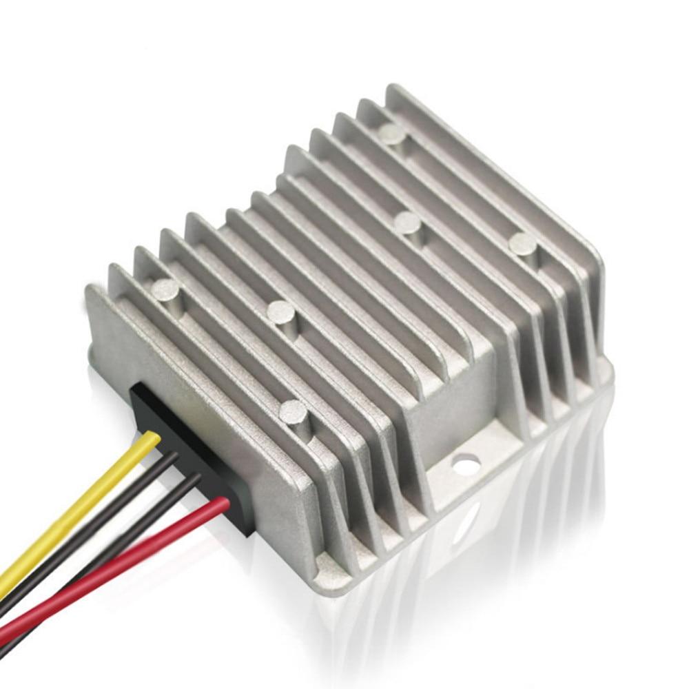 تيار مستمر 8 فولت-40 فولت إلى تيار مستمر 13.8 فولت 5A 10A 69 واط 138 واط استقرار محول محول تصعيد الجهد وحدة امدادات الطاقة لسيارة LED