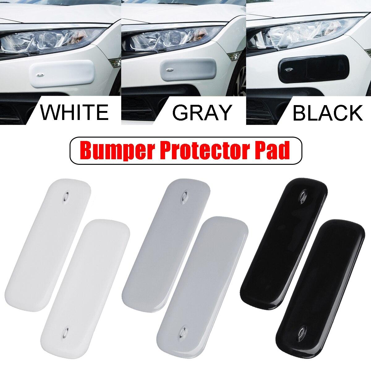 2 uds. Protector de parachoques Universal para coche, Protector de parachoques, protección de pegatinas para rasguños