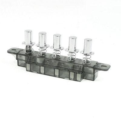 MQ165 3-interbloqueo, 1-reinicio, 1-bloqueo, 5 teclas, interruptor, 250VAC 4A para campana de cocina