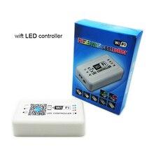Fabriek Koop Wifi RGB LED controller Unieke ontwerp rgb led controller voor Iphone, Android 2.3 Versie IOS, DC12-24V, 4A * 3 huidige