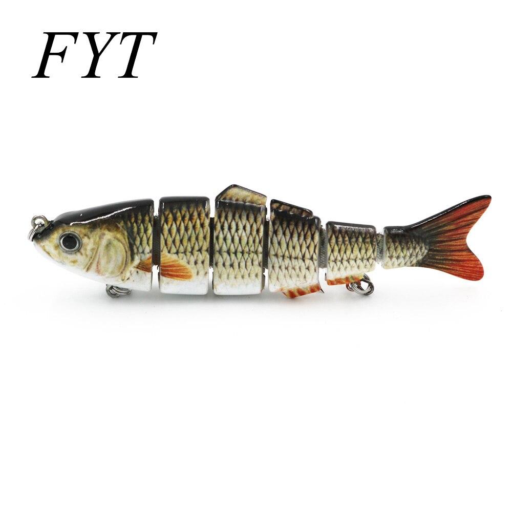 1 Uds 12,5 cm 25g 6-segement Isca Artificial Lucio señuelo Muskie pesca señuelos Swimbait Crankbait cebo duro accesorio de pesca
