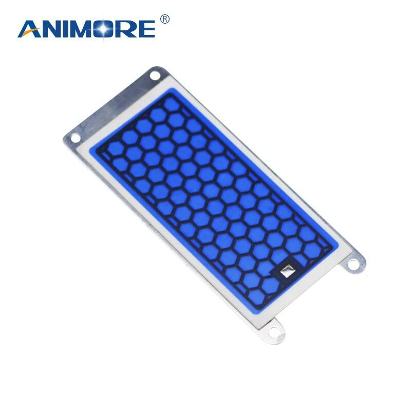 ANIMORE más nuevo ozono placa cerámica 220 V 5g ozonizador aire y agua ozono generador piezas purificador de aire para el hogar dormitorio AP-09