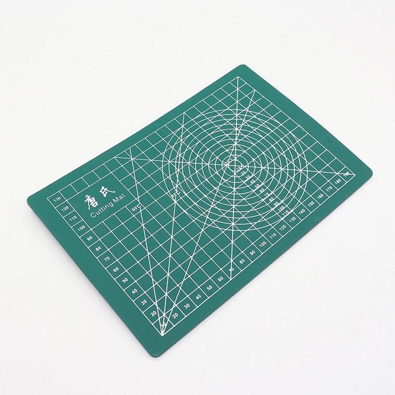 Mały rozmiar A5 zielona deska do krojenia specjalne pisanie DIY model pad 21x15cm