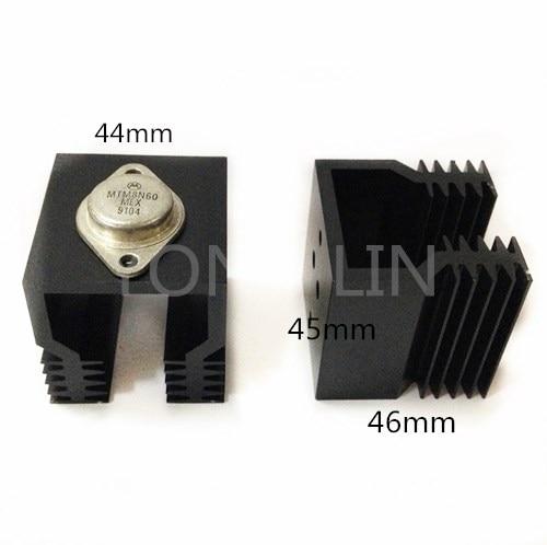 1PCS FET Heat sink/Solid State Relay heat sink/SSR heat sink/Aluminum 44*46-45