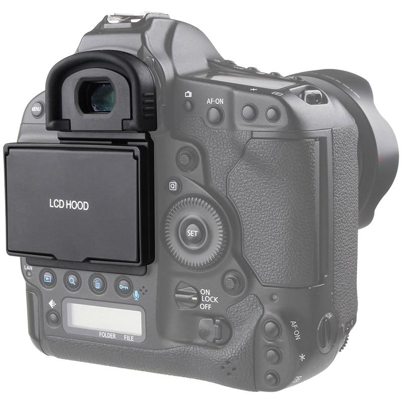 Protetor de Tela LCD Pop-up sun Sombra Escudo Tampa LCD Capa para Canon 1DX 1DX2 1DX MARK II Digital câmera