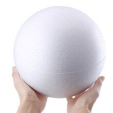 10 pcs round polystyrene ball Christmas Ball White Modelling Foam Craft Balls DIY Christmas Decorations Wedding Party Ornament
