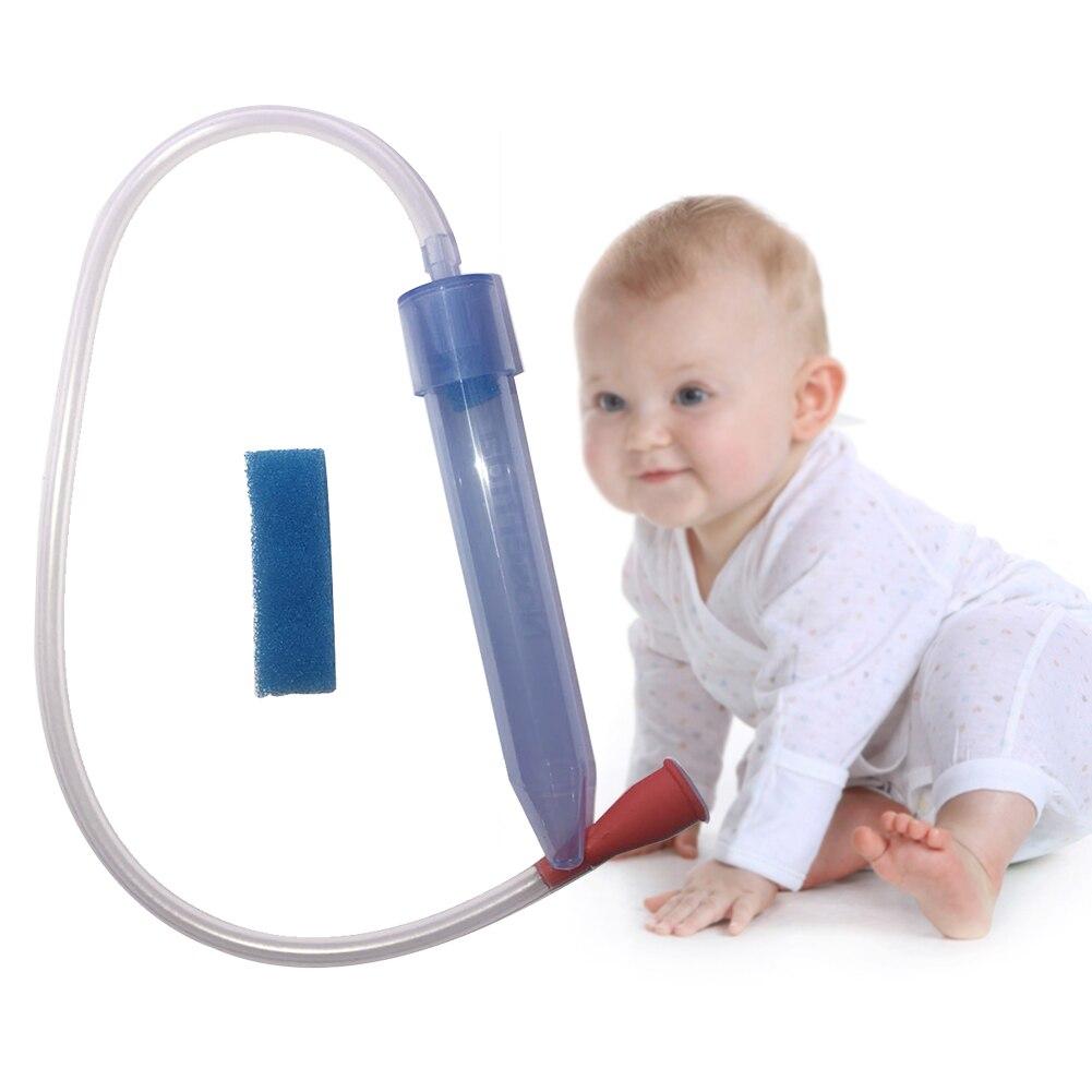 Детский вакуумный всасывающий мягкий наконечник, носовой аспиратор, подарок для младенцев, очиститель для носа, безопасный уход, поглощение, портативный