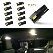 10x t10 w5w lâmpadas led canbus iluminação interior do carro para ford focus 2 3 1 fiesta mondeo mk4 trânsito fusão mk3 kuga ranger mustang