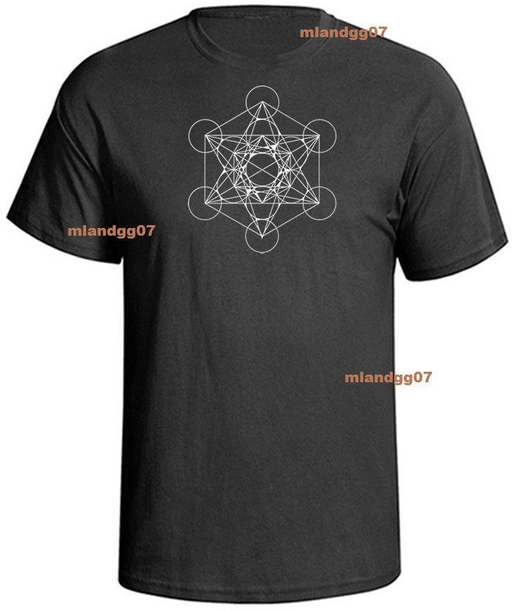 Harred Geometry Kabbalah Metatron Camiseta Tallas Cool Casual pride camiseta hombres Unisex moda camiseta envío gratis divertido