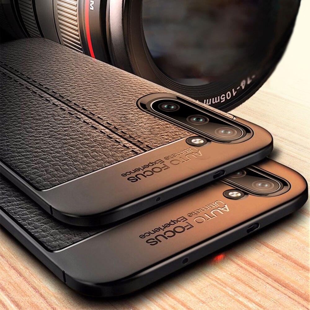 Étui pour Samsung Galaxy Note 10 Raugee étui de luxe en cuir grainé Litchi pour Samsung A70 étui antichoc