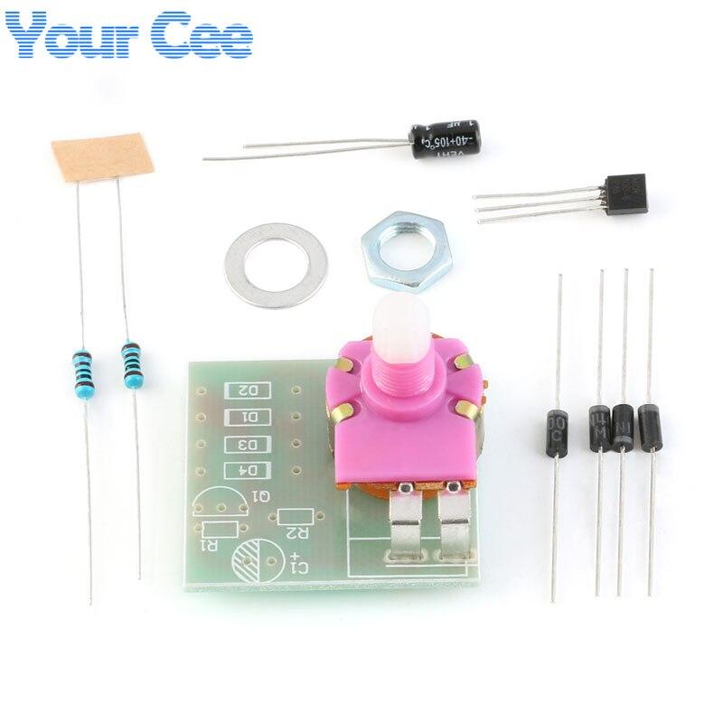 Kit de tablero de luz Dimmers DIY, tiristor unidireccional, lámparas de mesa, tablero de práctica de atenuación, circuitos integrados, piezas electrónicas