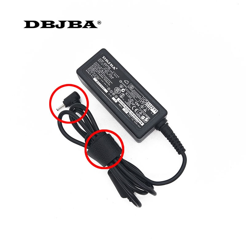 19V 2.37A 3,0*1,1mm adaptador de CA Cable de puerto de conector de cargador de CC para Acer V3-371 P236 P3-171 S7 s5 A13-045N2A PA-1450-26 portátil