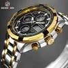 Goldensabor – montre-bracelet analogique à Quartz pour homme marque de luxe numérique militaire Sport