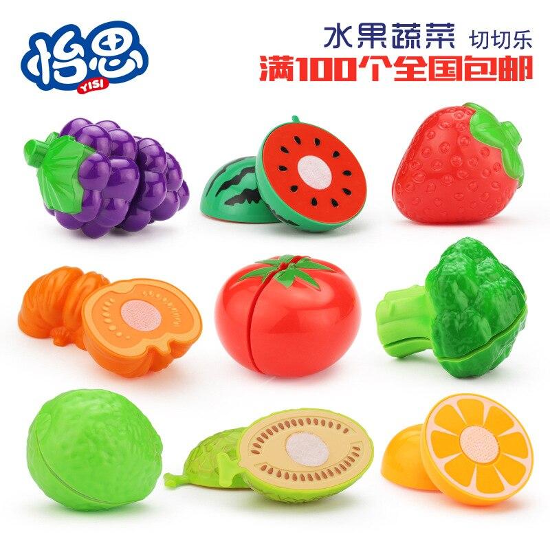 Детская имитация игрового домика, кухонные игрушки, нарезки фруктов оптом, игрушки для фруктов