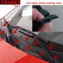 1.7M Car Front Rear Windshield Sunroof Seal Strip For BMW E46 E90 E60 E36 F20 X5 Ford Focus 2 3 1 Peugeot 206 307 308 Saab