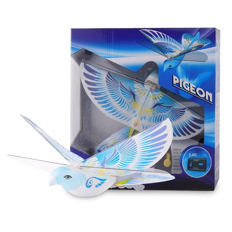 Jouet télécommandé RC oiseau volant avion jouet battant aile vol avion modèle 2.4GHz Drone jeu de plein air e-bird animaux jouets enfant