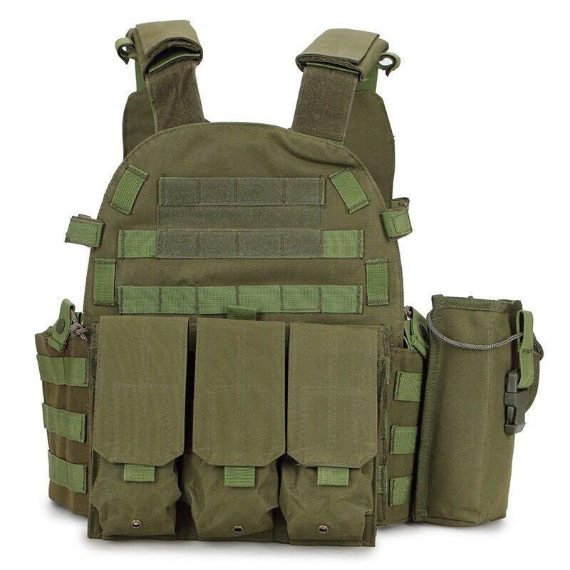 Chaleco táctico camuflaje militar Wargame armadura caza chaleco CS selva equipo seguridad caza protección Accesorios