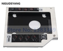 NIGUDEYANG 2nd disque dur HDD SSD Caddy adaptateur cadre pour HP ENVY 17j-100 M7-K211DX 17t-j100 GU90N